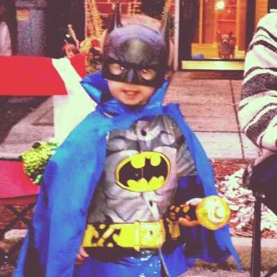 No this is not his Halloween costume. He wears this frequently.