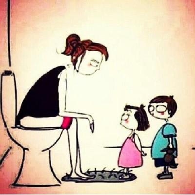 mom potty