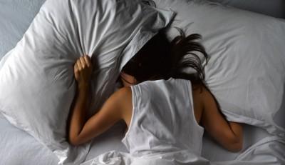 pillow over head